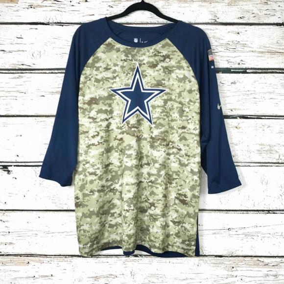 big sale 05786 b6fcc Nike Women's Dallas Cowboys Military Jersey Sz XL